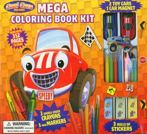 Download Cool Cars and More! Mega Coloring Book Kit pdf