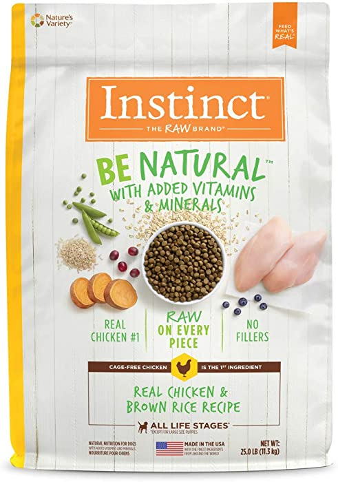 Instinct Be Natural Recipe Natural Dry Dog Food Formerly Prairie by Nature's Variety