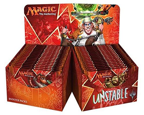 Magic Unstable Booster Box - 36 packs MTG TCG Card Game Draft Box