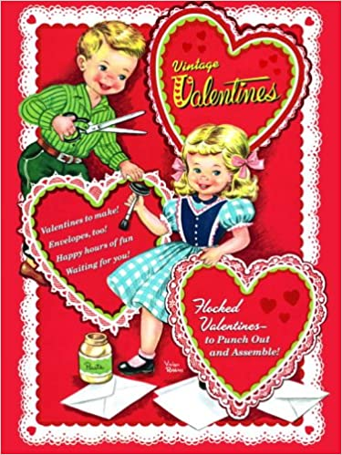 Vintage Valentines (Press Out Book): Golden Books: 9780375875144:  Amazon.com: Books