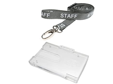 Amazon.com: ID Card It ID Badge Holder horizontal insignia ...