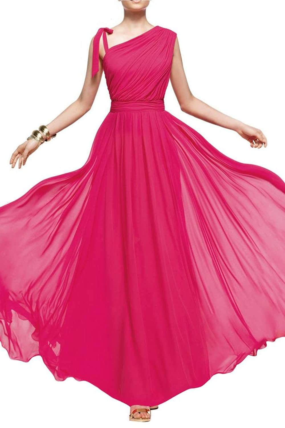 Gorgeous Bride New Maxi Chiffon Evening Dresses Bridesmaid Dresses Elegant