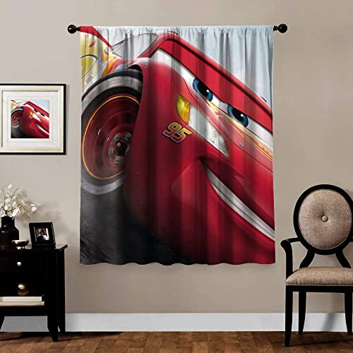 Blackout Curtains,Cars Lightning McQueen 6