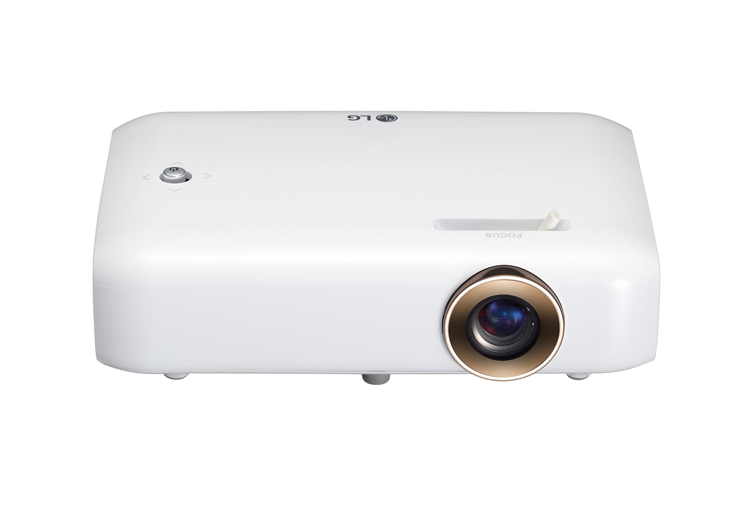LG Electronics PH550 Minibeam Projector with Bluetooth Sound, Screen Share and Built-in Battery (2016 Model) by LG
