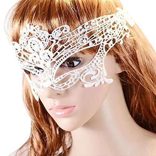 [Happy Hours - Stylish Sexy Hollow Lace Eyes Mask for Fancy Dress Halloween Masquerade Party Bar] (Masquerade Dresses For Sale)