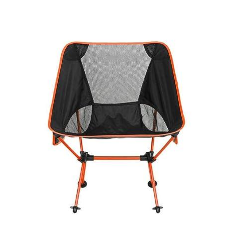 ZH Plegable Silla de Camping, Silla Plegable al Aire Libre ...