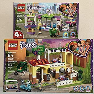 LEGO Friends Heartlake City Restaurant Bundled Friends City Supermarket