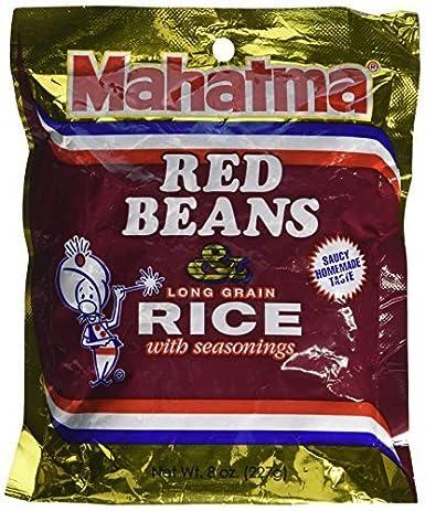 Mahatma – Bolsa de frijoles & Arroz – 8oz Rojo Por Mahatma ...