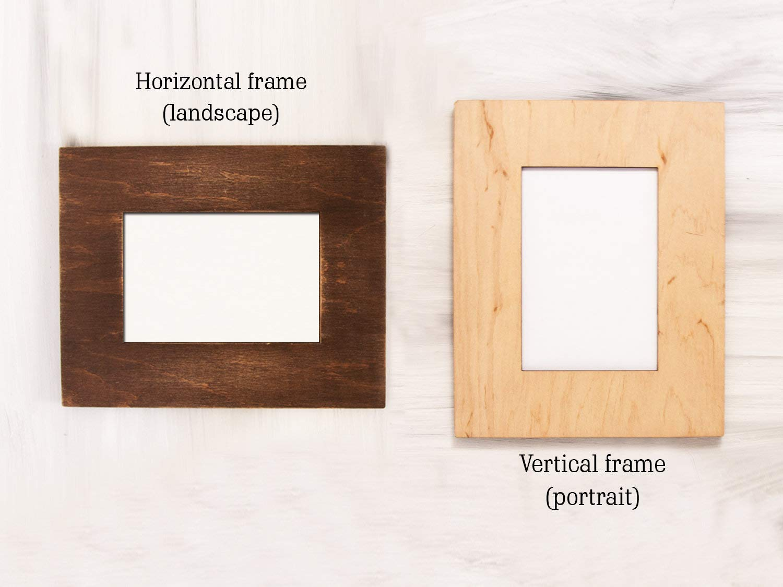 Personalise this frame Grandad /& Me Wooden Photo Frame 8x6 Free Engraving