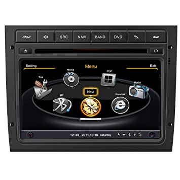 Generic 17,78 cm Auto Radio Winca Holden contraalmirante VY VZ DVD del coche reproductor