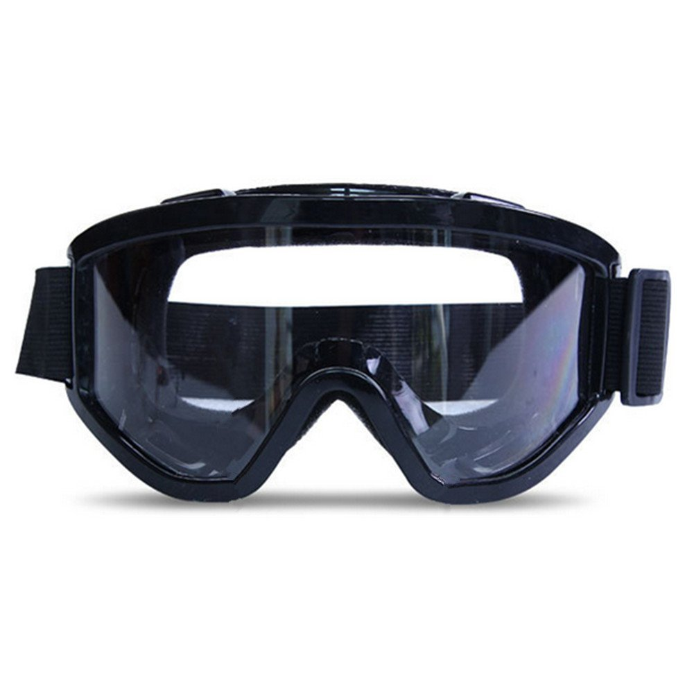 Daixers Anti-Fog Clear Lens Safety Goggle (Black) by Daixers