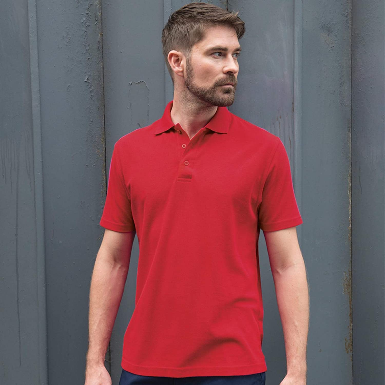 Absab Ltd PRO RTX Mens Short Sleeve Casual Work Polo Adult Polycotton Piqu/é Polo Shirt