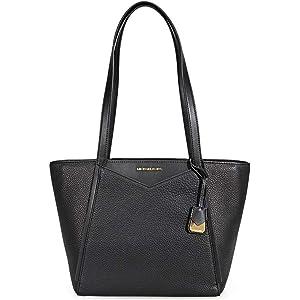 41de97fc6e Michael Kors Whitney Ladies Small Pebbled Leather Tote Handbag 30S8GN1T1L001