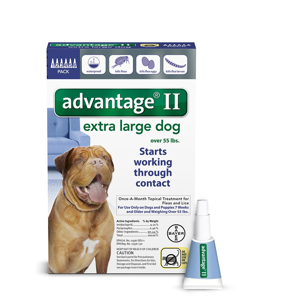 Bayer Advantage II Extra Large Dog 6Pack by Bayer Animal Health