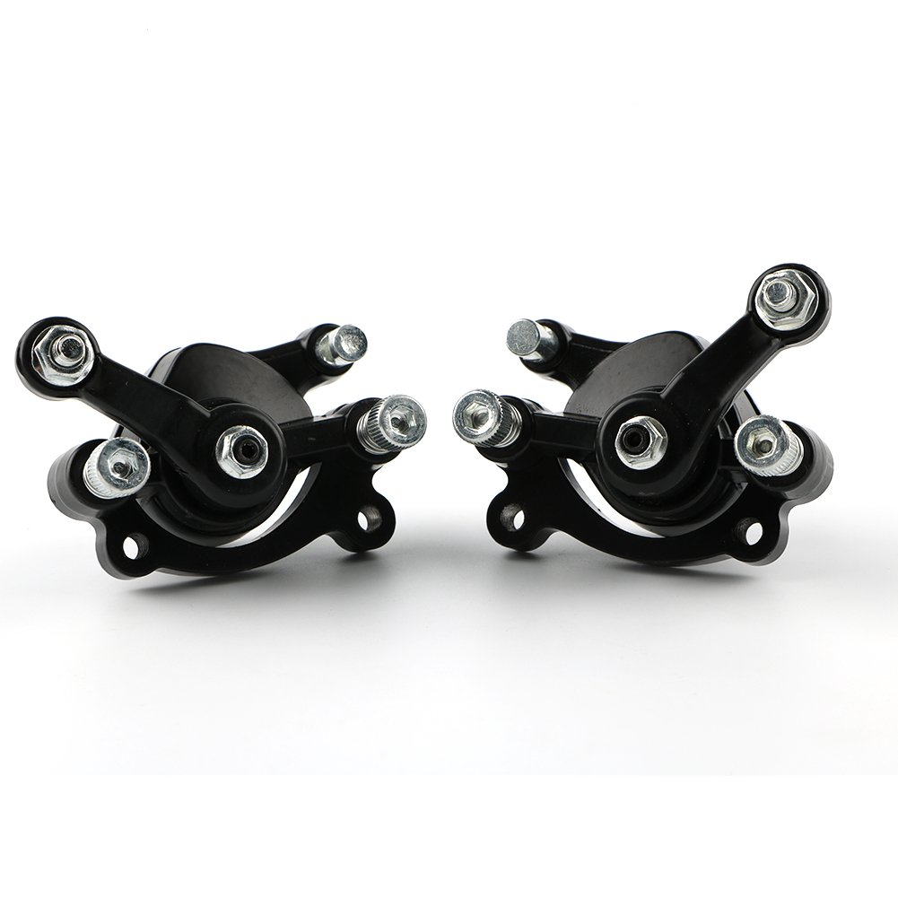 Disc Brake Caliper Front and Rear for 2 Stroke 47cc 49cc Pocket Bike Motovox MBX10 MBX1 Mini Moto (Front & Rear) MOPASEN