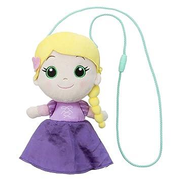 Disney Princess Rapunzel pochette de peluche 21cm longitud total