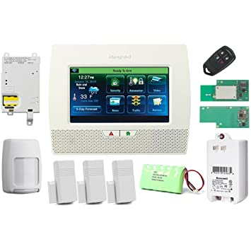 Honeywell Wireless Lynx Touch L7000 Home Automation/Security Alarm Kit with WiFi, Zwave & GSM Module