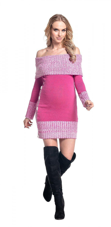 de punto 913p Vestido premam/á Happy Mama Boutique