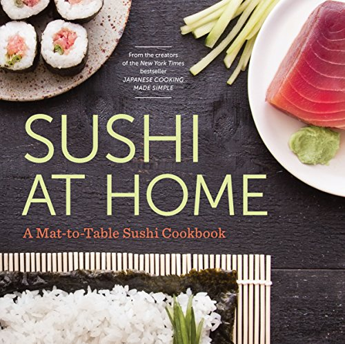 Sushi at Home: A Mat-To-Table Sushi Cookbook by Rockridge Press