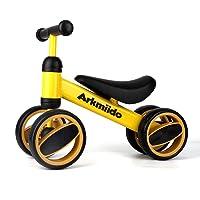 Arkmiido Bicicleta de Equilibrio para niños de 12 Meses a 1 años, Marco de Acero al Carbono, Bicicleta de Entrenamiento…