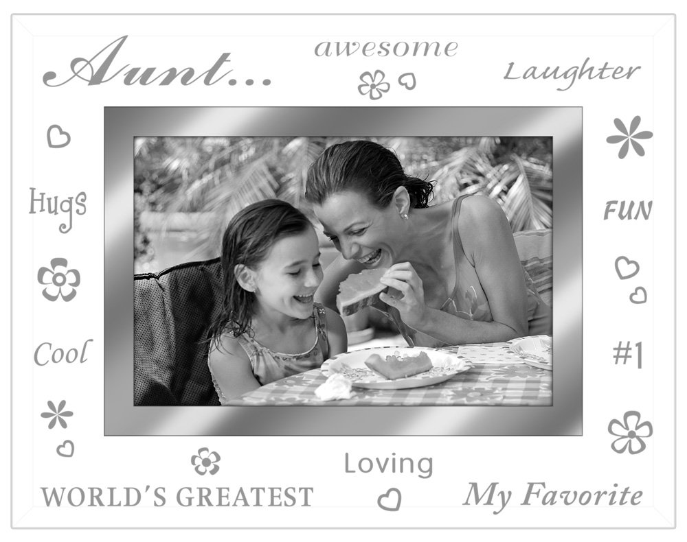 Gift For Aunt Sweet Poem From Niece Or Nephew In Double Frame