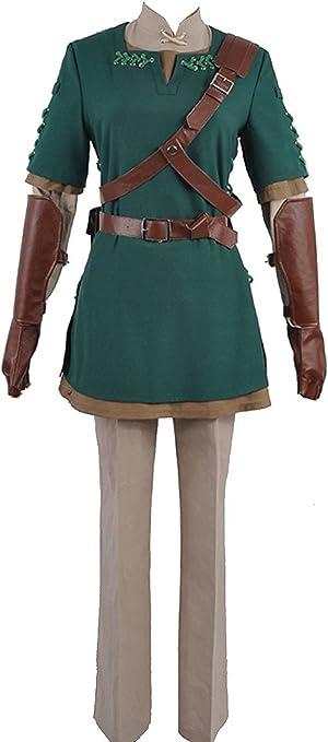 Cosplayfly The Legend of Zelda Link Cosplay Disfraz Top Chaqueta ...