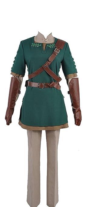Cosplayfly The Legend of Zelda Link Cosplay Disfraz Top ...