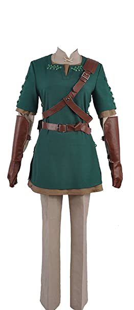 The Legend of Zelda Link Cosplay Costume Top Jacket Shirt Pants ...