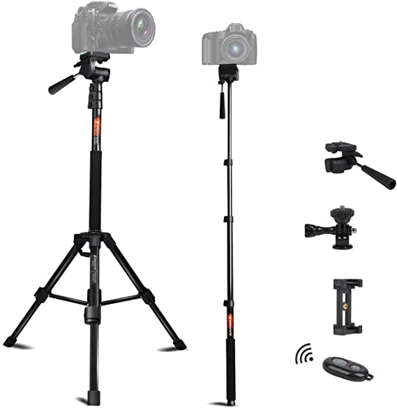 Camera /& Photo Products Universal Three Feet Monopod Support Stand Base for Camera Camcorder