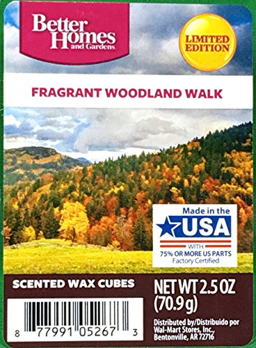 Better Homes and Gardens Fragrant Woodland Walk Wax Cubes