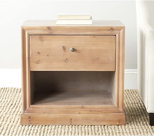 Safavieh American Homes Collection Cain French Grey End Table