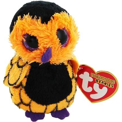 d5f0ec1037b Amazon.com  Ty Halloweenie Beanie Ozzie - Owl  Toys   Games