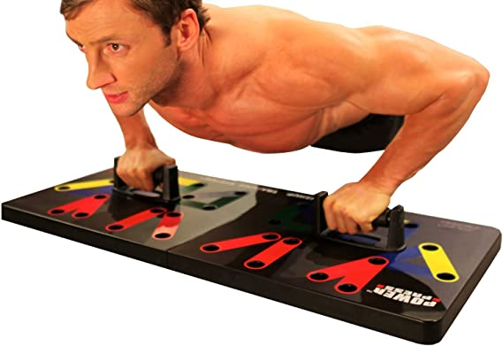 Maximum Fitness Gear Power Press Complete Push Up Training System Review
