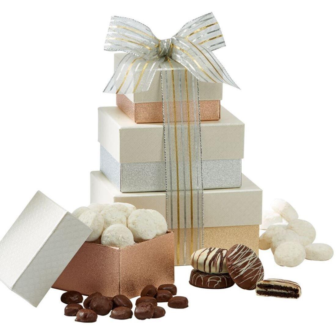 Amazon.com : Hebert Candies WHITE CHOCOLATE LOVERS TOWER : Grocery ...