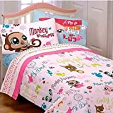 5pc Littlest Pet Shop Bedding Set - Comforter Sheets - Full Bed