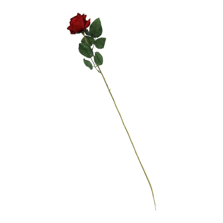 Single eco rose stem silk artificial silk flowers funeralcrimson single eco rose stem silk artificial silk flowers funeralcrimson amazon kitchen home izmirmasajfo