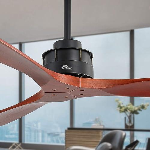 60″ Farmhouse Indoor Ceiling Fan