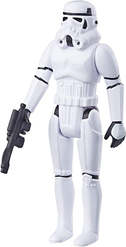 Amazon Com Star Wars Retro Collection 2019 Episode Iv A New Hope Stormtrooper Toys Games