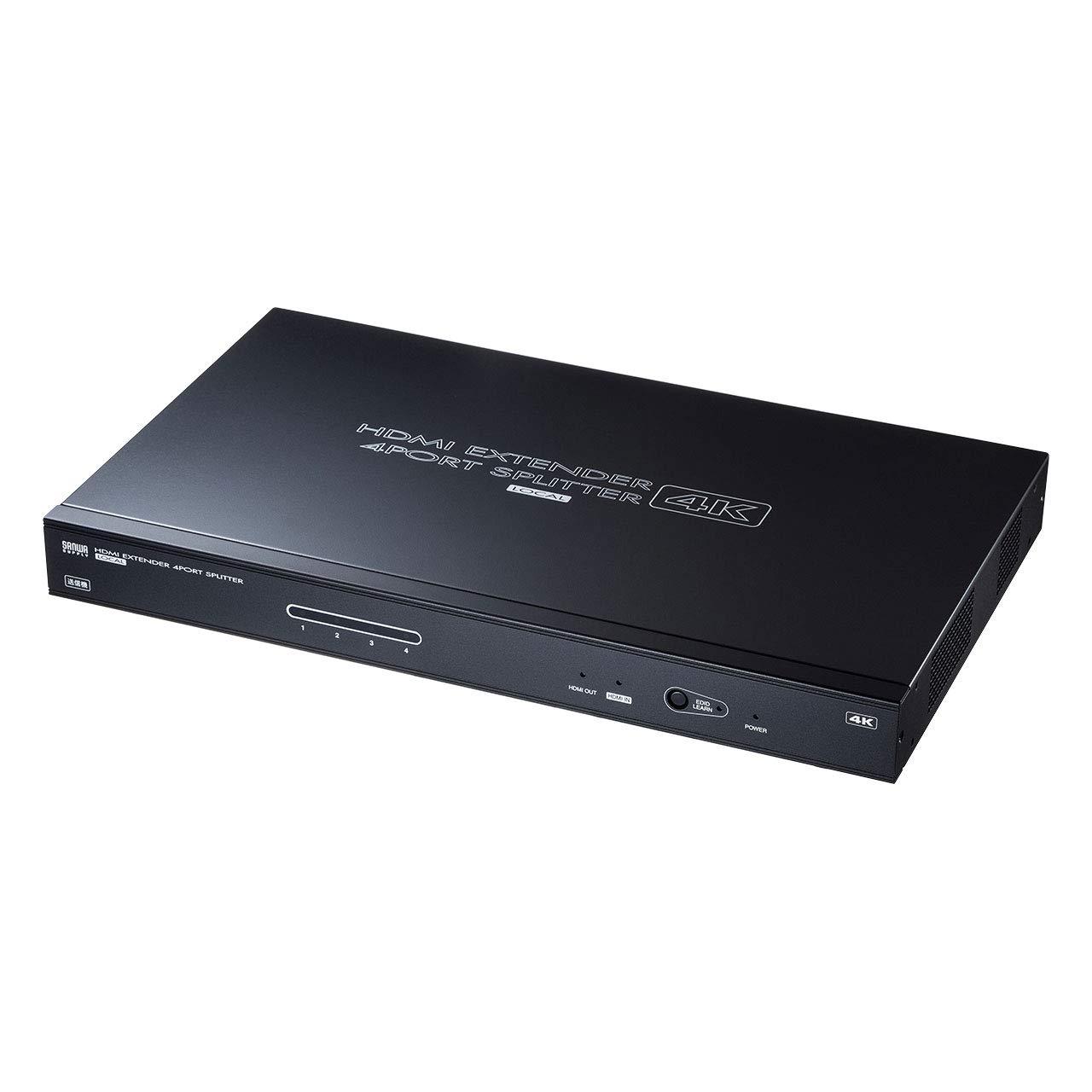 想像を超えての サンワサプライ VGA-EXHDLTL4 VGA-EXHDLTL4 HDMIエクステンダー(送信機4分配) B07NPMD5N5 B07NPMD5N5, SEEK:a2c71da0 --- arianechie.dominiotemporario.com