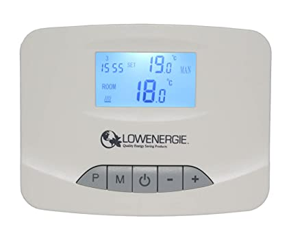 Microondas Digital termostato programable inalámbrico RF Stat 7 días temporizador calefacción de bajo consumo