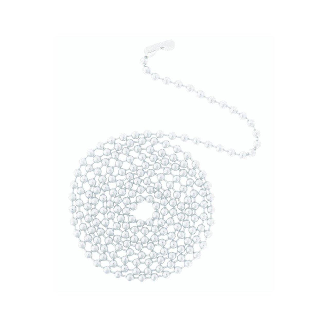 WESTINGHOUSE LIGHTING 77051 Bead Chain, 3-Feet, White - 2 Pack