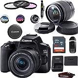 Canon EOS 250D (Rebel SL3) DSLR Camera with EF-S 18-55mm f/4-5.6 is STM Lens - Basic Accessories Bundle