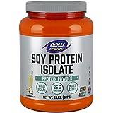 NOW Sports Soy Protein, Creamy Vanilla, 2-Pound