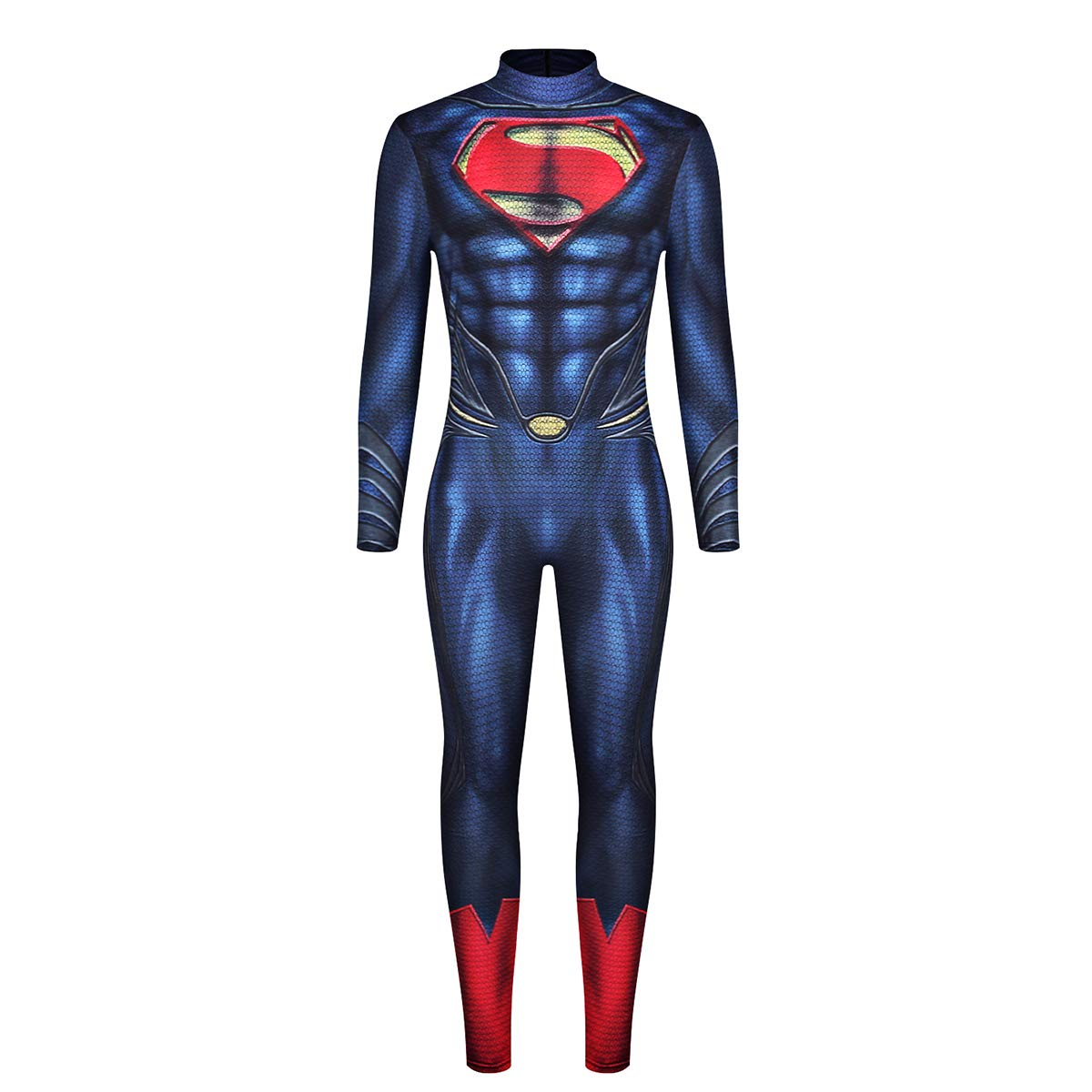Leezeshaw - Disfraz de Superman para Hombre, Disfraz de superhéroe ...