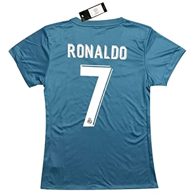 new product 50bc6 0d733 VVBSoccerStore New #7 Ronaldo 2017/2018 Women's Real Madrid ...
