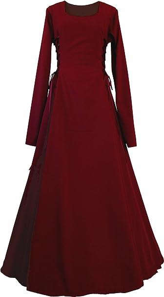 Dornbluth Damen Mittelalter Kleid Eleonore