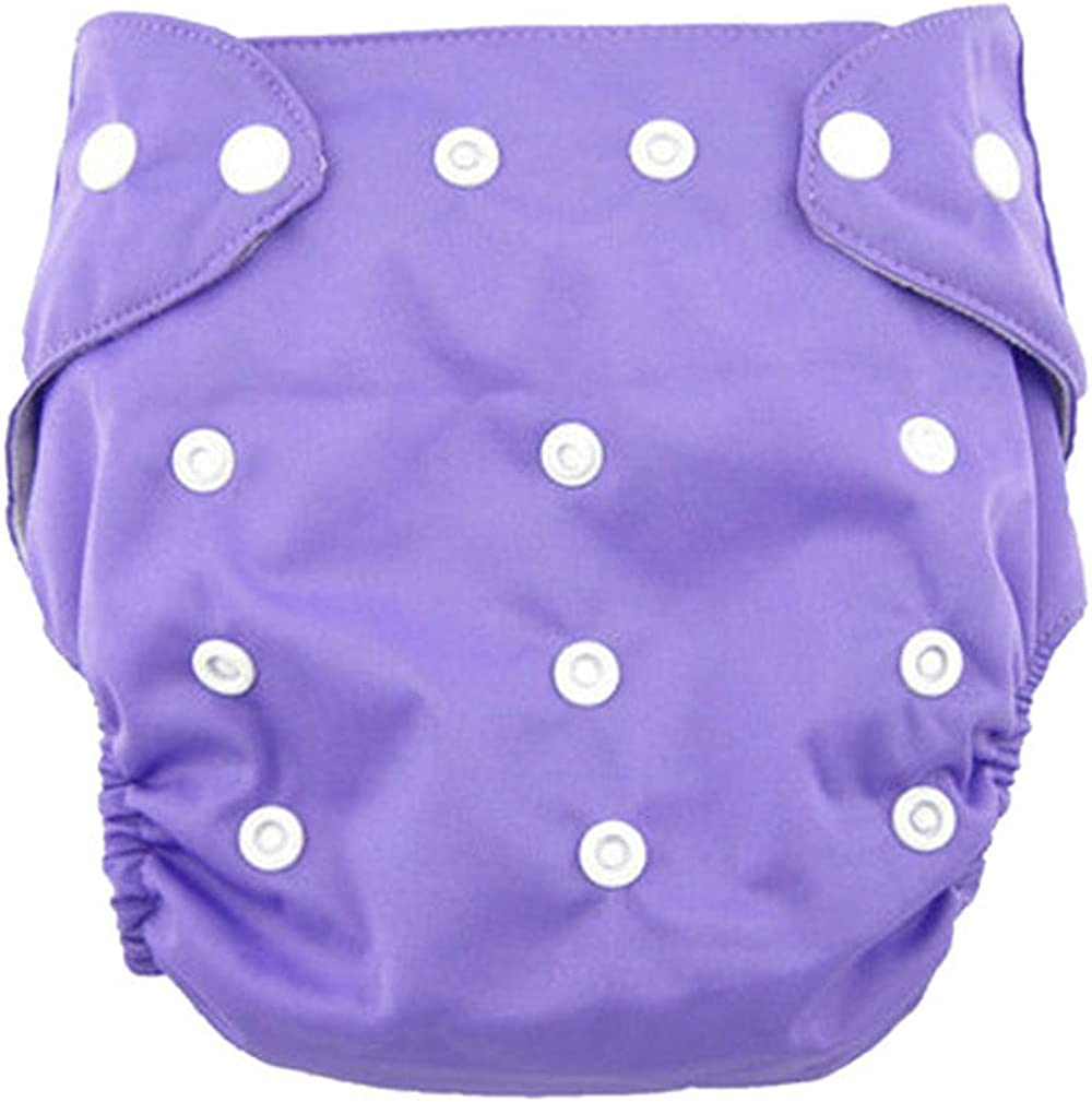 Adjustable Reusable Washable Nappy Zolimx Baby Diaper Cover Newborn Baby Cloth Round Dot
