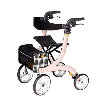 Drive Medical Nitro - Andador con asiento y ruedas (tamaño M ...