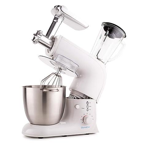 Domoclip Amasadora batidora picadora DOP104W Robot Cocina -1200W - 7 Litros