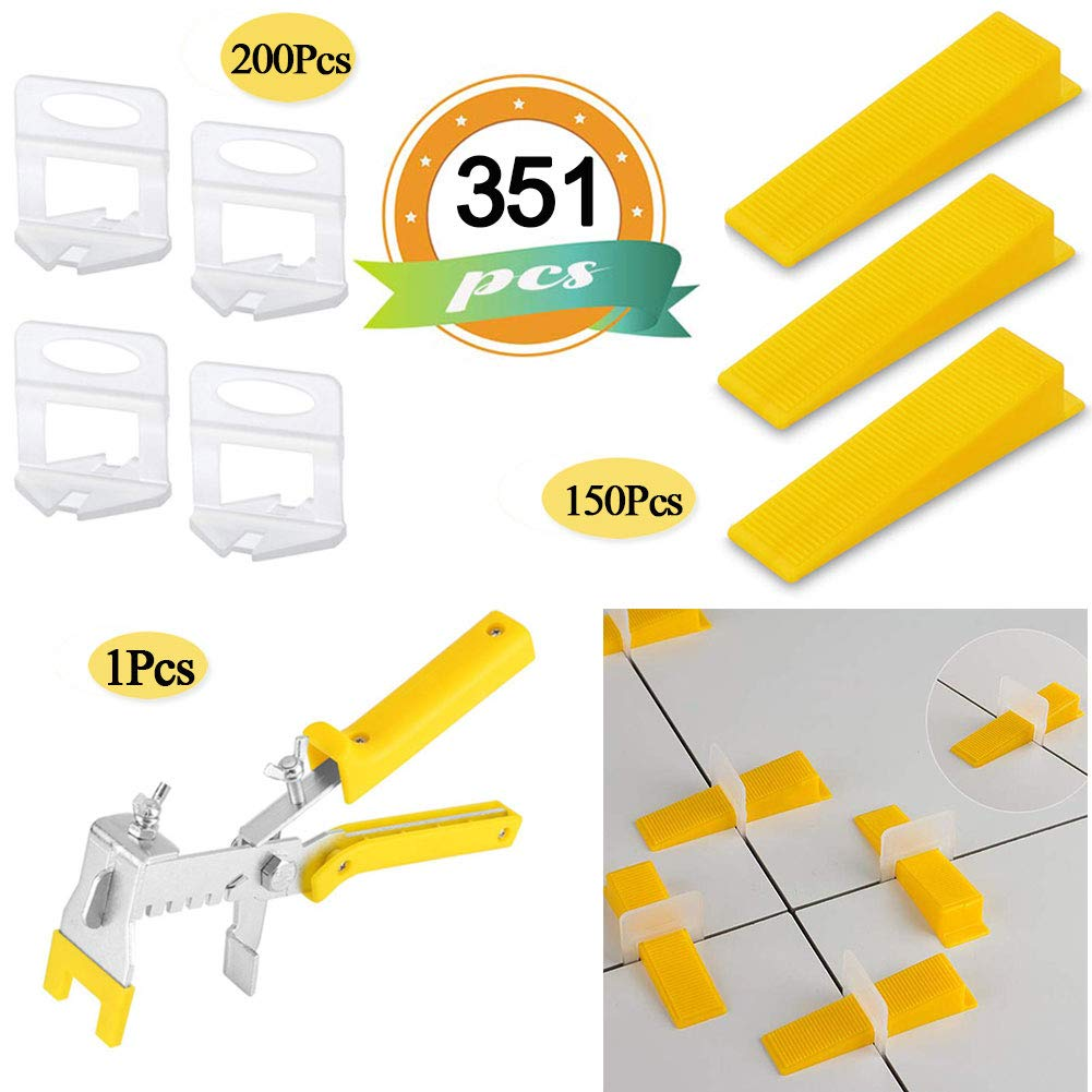 Leveling Spacer Clips 100pcs Tile Leveling System Clips 1//8 Inch 3MM